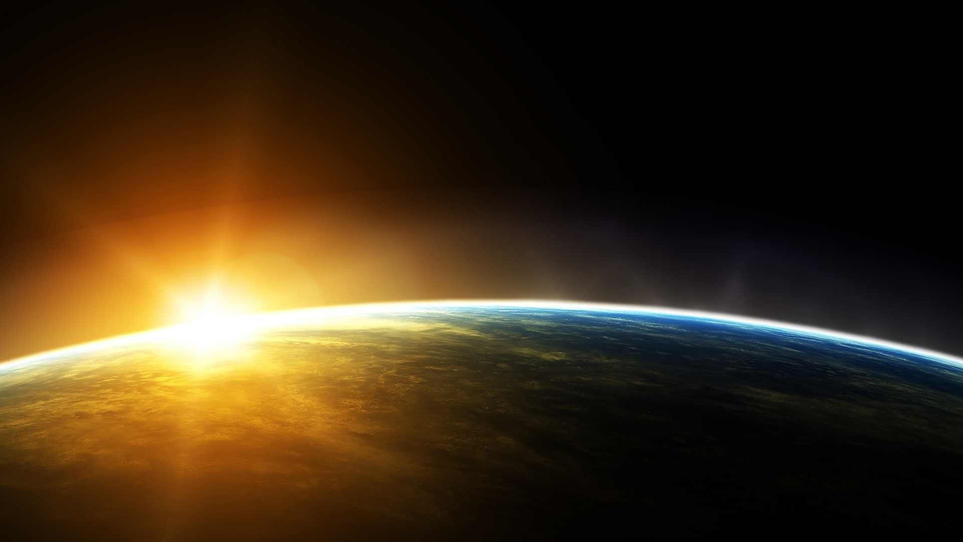 nasa-earth-rounding-sun-high-wallpapers