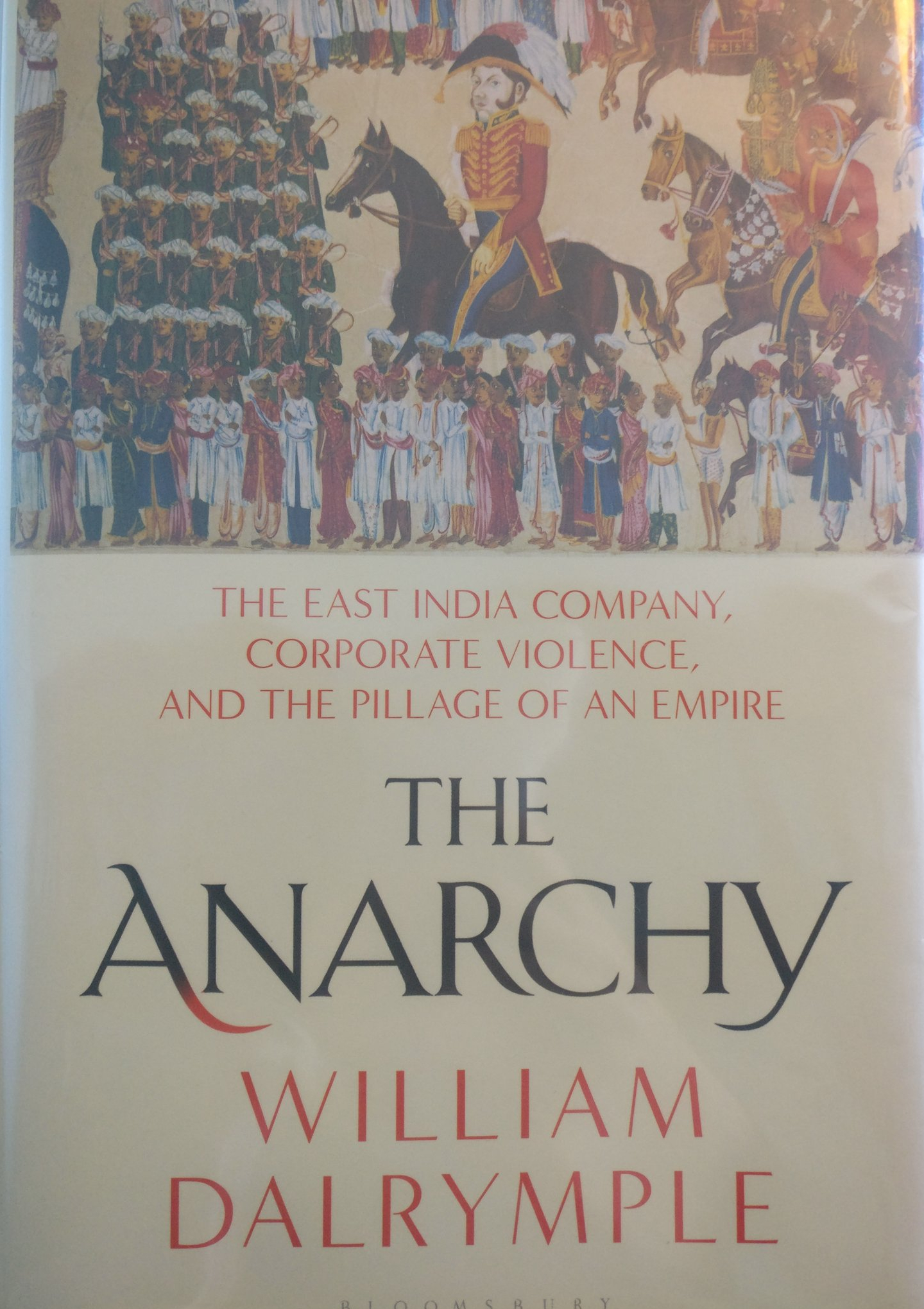 The Anarchy front cover